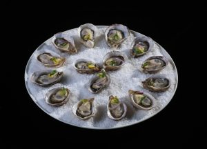 Kusshi Oysters from our BC oyster farm