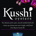 Kusshi BC Oysters informational sticker